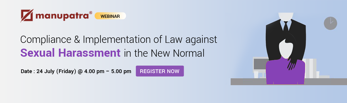 Webinar- Law against Sexual Harassment
